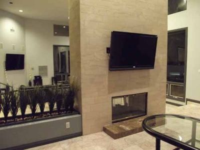 Two 60 TV'S in Living Area