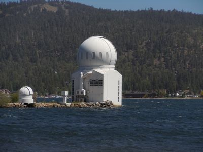 An afternoon is unforgetable at the lake observatory.