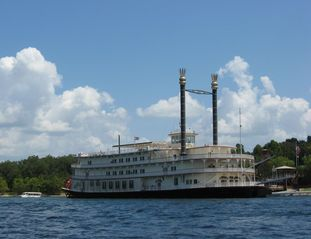 Branson condo photo - Take a cruise on the Branson Belle Showboat! Courtesy BCC.