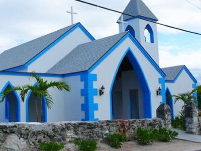 Church on Rum Cay