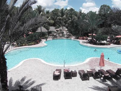 Award winning resort pool