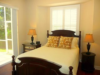 Cape Coral house photo - Guest room with queen bed and lots of natural light