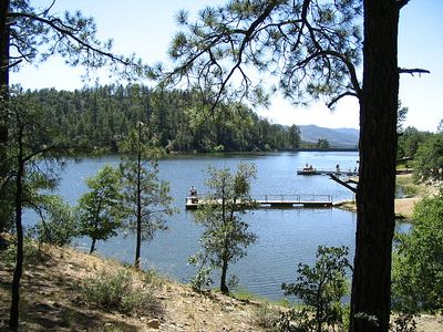 Nearby Goldwater Lake. Minutes to hiking, fishing, canoeing, playground.