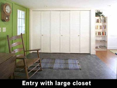 Spacious Entry with Large Closet