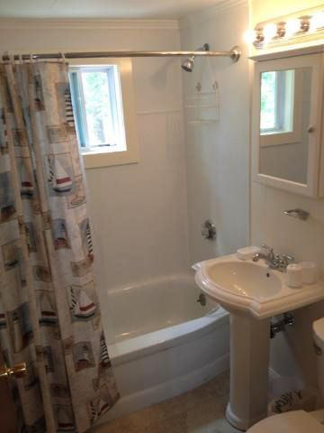 newly renovated bath at upper cottage #194-lower one #200 is similar