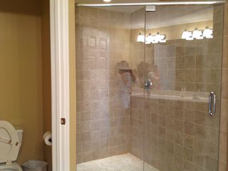 Oceans Mist Ocean City condo photo - Large shower in private bath attached to bedroom two