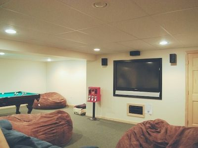 North Ferrisburg cabin rental - Home Theater with Surround Sound