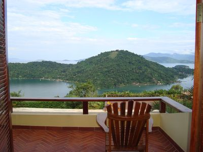 House in Paraty with wonderful views of the Bay