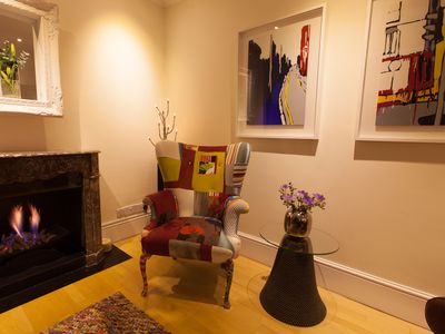 Covent Garden apartment rental - Living room (part)
