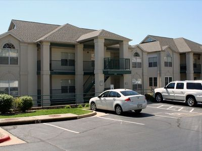 Convenient private parking gives you direct access to your Branson condo