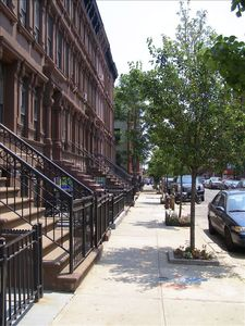 Harlem apartment rental - Our location on 129th Street, between 5th and Madison Avenues.