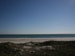 Jacksonville Beach condo photo - Fabulous views from the balcony.