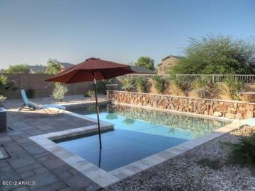San Tan Valley house rental - Beautiful pool, next door neighbors are offset which makes it private!