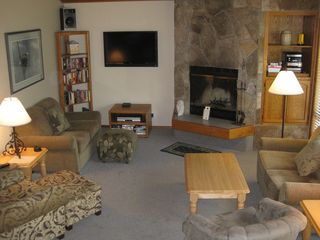 Sunriver house photo - Living Room with 42 Inch Television