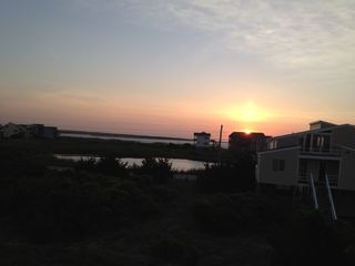 Sunrise from your bedroom - North Topsail Beach cottage vacation rental photo
