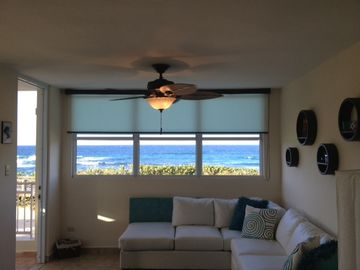 Isabela apartment rental - Living Room - Full ocean view