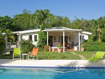 Mullins Bay villa rental - Tree Tops: tranquil, stylish, comfortable