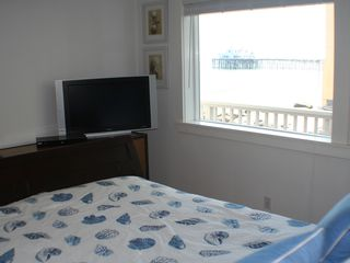 Malibu apartment photo - Bedroom includes with ocean view & flatscreen TV