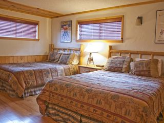 Breckenridge house photo - Large Guest Bedroom with two (2) Queen Beds is located on lower level