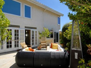 Dana Point house photo - Relaxing patio off of dining room. Heater and grill for entertaining