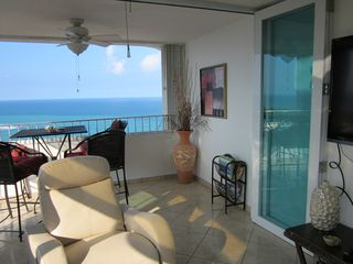 Luquillo condo photo - Look at that view!