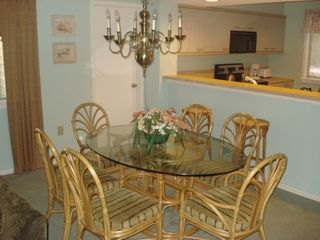 Kingston Plantation villa photo - Dining Room seats 6-8