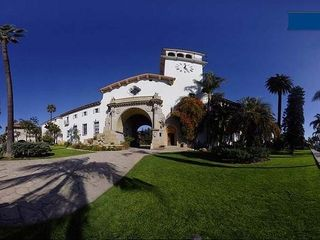 Santa Barbara studio photo - Front of the Beautiful Queen Anne Apartment building