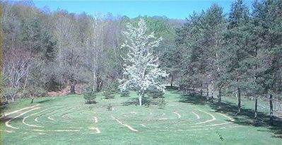Take time to enjoy the 7 Circuit Labyrinth that is 3/10 of a mile in diameter.