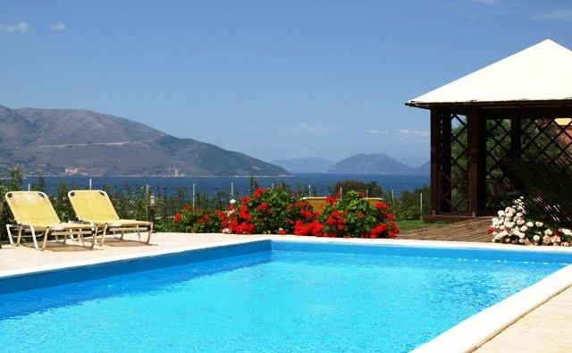 Modern comfortable villa with private pool and stunning view