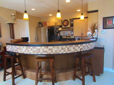 Mission Beach house rental - Large fully equipped kitchen. Everything you need - just like home.