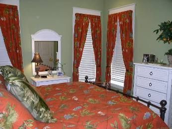 1st floor Master Suite: You won't feel a pea in this bed!