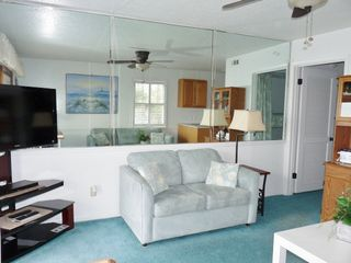 Forest Beach condo photo - Livingroom with new sofa and loveseat