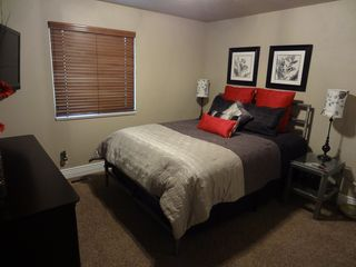 "Snowbasin townhome photo - Queen Pillow Top, High Count Sheets, Nice Pillows, 42"" HDTV, DVR & Movie Pkg"