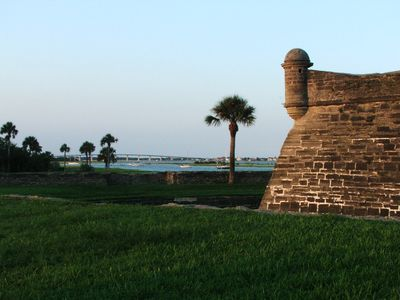 Visit the old Fort on the bay in the old city of St Augustine