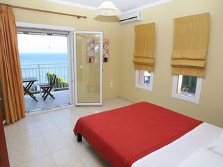 Skala villa photo - Second floor Bedrooms, Waking up to this great view
