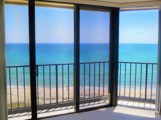 Hutchinson Island condo photo - Master bedroom with sliding doors to the balcony