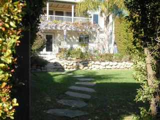 Santa Barbara house photo - A secluded sanctuary, private garden.