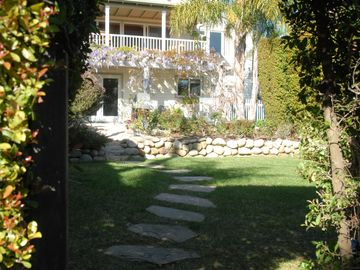 Santa Barbara house rental - A secluded sanctuary, private garden.