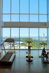 Palermo apartment photo - The gym on the penthouse floor has one of the best views in all of South America