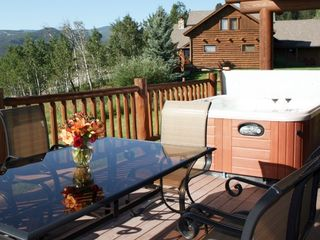 Big Sky cabin photo - High Altitude Property Management - Private Hot Tub