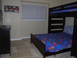 Aviana Resort house photo - Boys Sports Themed Room - Full/Twin Bunkbed Sleeps 3