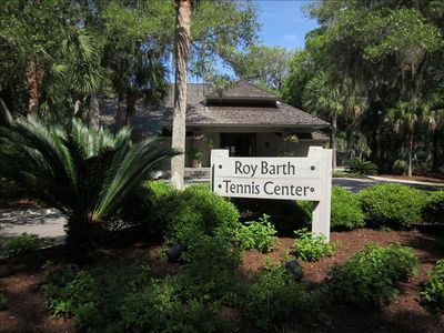 Roy Barth Tennis Center that was voted #1 in America from Tennis Magazine.