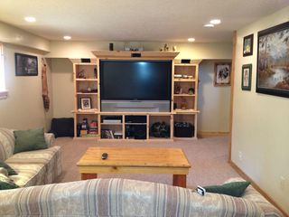Duck Creek Village cabin photo - TV Room View 1
