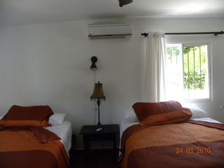Puerto Plata villa photo - 3 mainfloor bedrooms with 2 new serta pillowtop beds and air conditioners