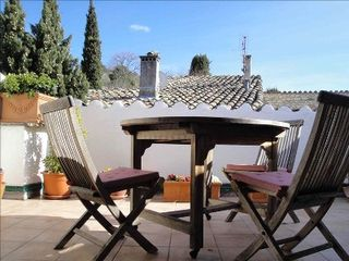 Vaison-la-Romaine townhome photo - terrace