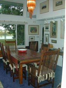 Elk Rapids house rental - Dining Room