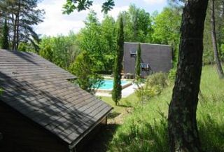 Sagelat chalet rental - An idyllic set in a totally private park