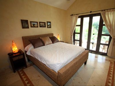 Guest Bedroom on the 2nd Floor with Queen Bed and Private Terrace