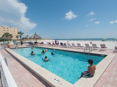 Madeira Beach condo rental - Heated Pool