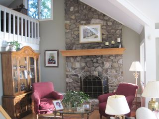 Kezar Lake house photo - Fireplace